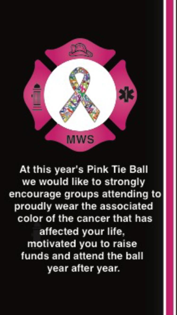 Schaumburg Firefighters Association Pink Tie Ball
